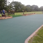 Sports EPDM Colour Coating in Burmington 1