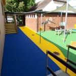Sports EPDM Colour Coating in Abbey Gate 10
