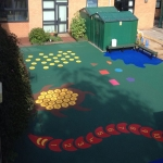 Wetpour Playground Graphics in Larne 4