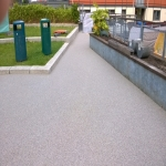 Sports EPDM Colour Coating in Trentlock 5