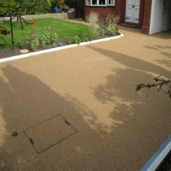 Resin Bound Surfacing in New Tredegar 12