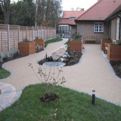 Resin Bound Surfacing in Bascote 8