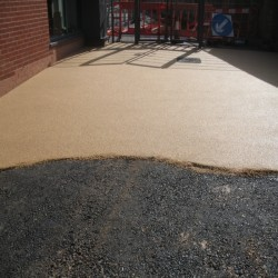 Resin Bound Surfacing in Hamister 6