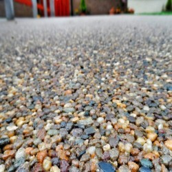 Stone Aggregate Design in Over 4