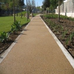 Resin Bound Surfacing in Kingsley Moor 12