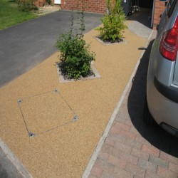 Resin Bound Surfacing in The Village 1