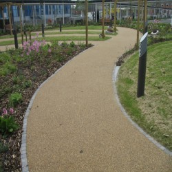 Resin Bound Surfacing in Alkrington Garden Village 1