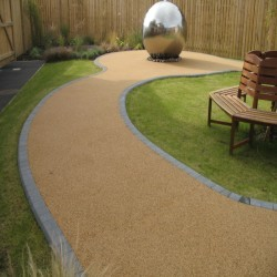 Resin Bound Surfacing in Hamister 4
