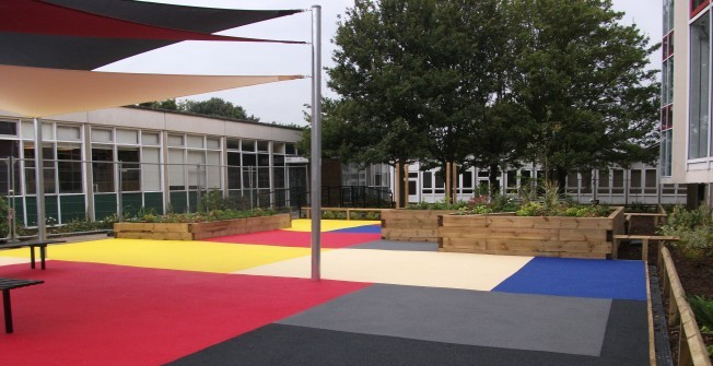 Wetpour Playground Designs in Antony Passage