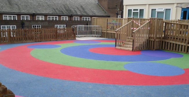 Wetpour NBS Specification in Aber-oer