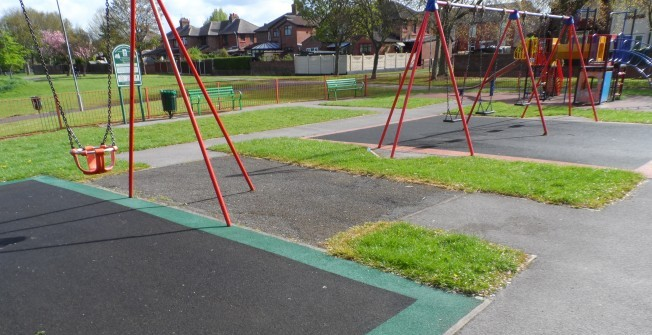 Play Area Surface Maintenance in Almington
