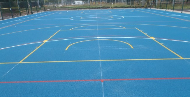 Polymeric Line Markings in East Ayrshire