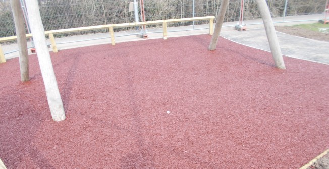 Rubber Mulch Repairs in Drem