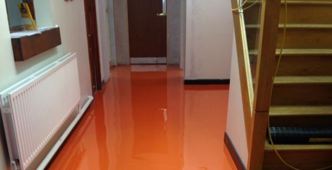 Self Levelling Epoxy Flooring in Alum Rock