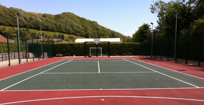 Polymeric MUGA Maintenance in Apsey Green