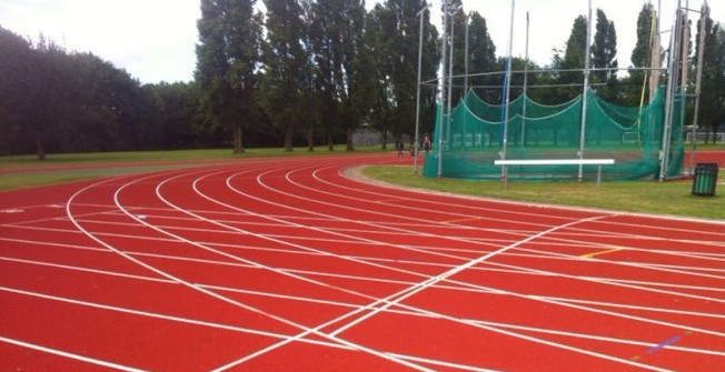 Polymeric Athletics Facilities in Earlswood