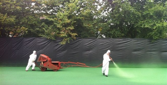 Polymeric Surface Paint in Moor Park