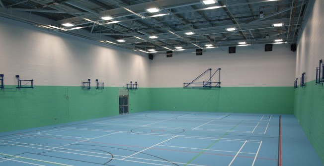 PU Sports Flooring in East Renfrewshire