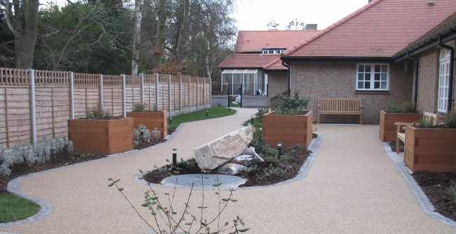 Resin Bound Aggregate Design in Upwaltham