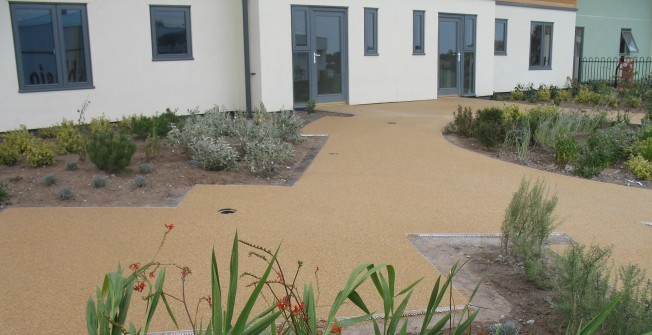 Resin Bound Stone Maintenance in St Erney