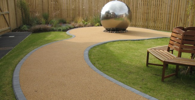 Resin Bound SUDS Paving in Glasgow City