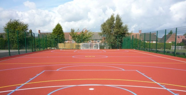 Polymeric Sports Surfaces in Redhill