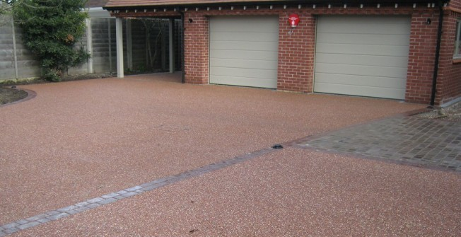 Resin Bound Paving in Down