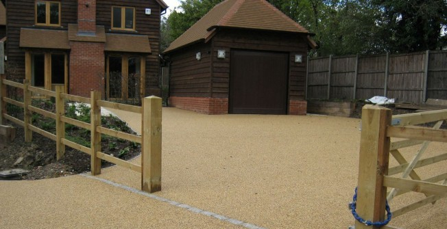 Resin Bound Surface Suppliers in Alvanley