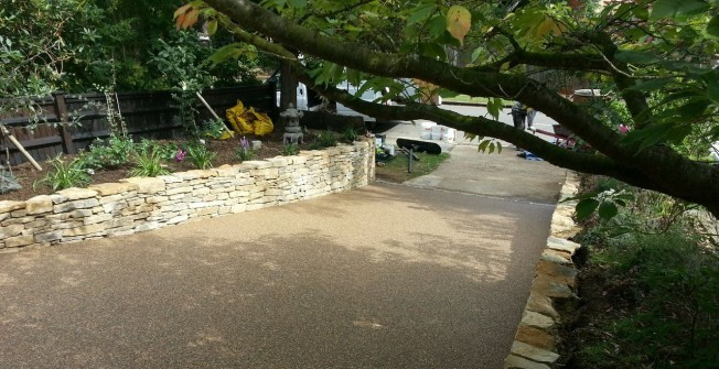 Resin Bound Gravel in Bascote