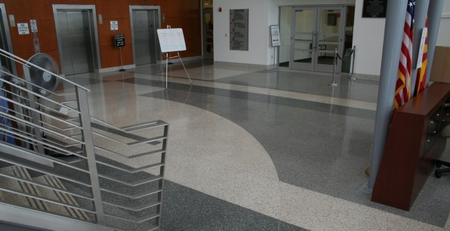 Terrazzo Indoor Flooring in Statenborough