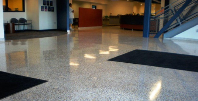 Seamless Terrazzo Surfaces in Ansty Cross