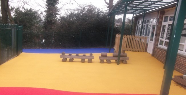 Rubber Flooring Designs in Abbey Gate