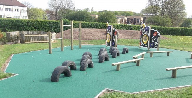 Wetpour Playground Installers in Burcot